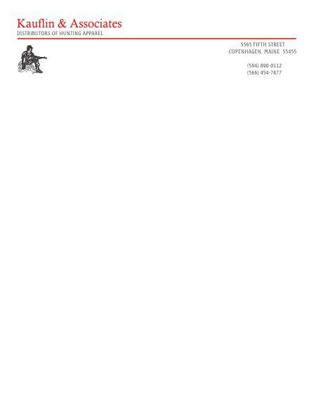 word letterhead templates and free personal business company - letterhead format word