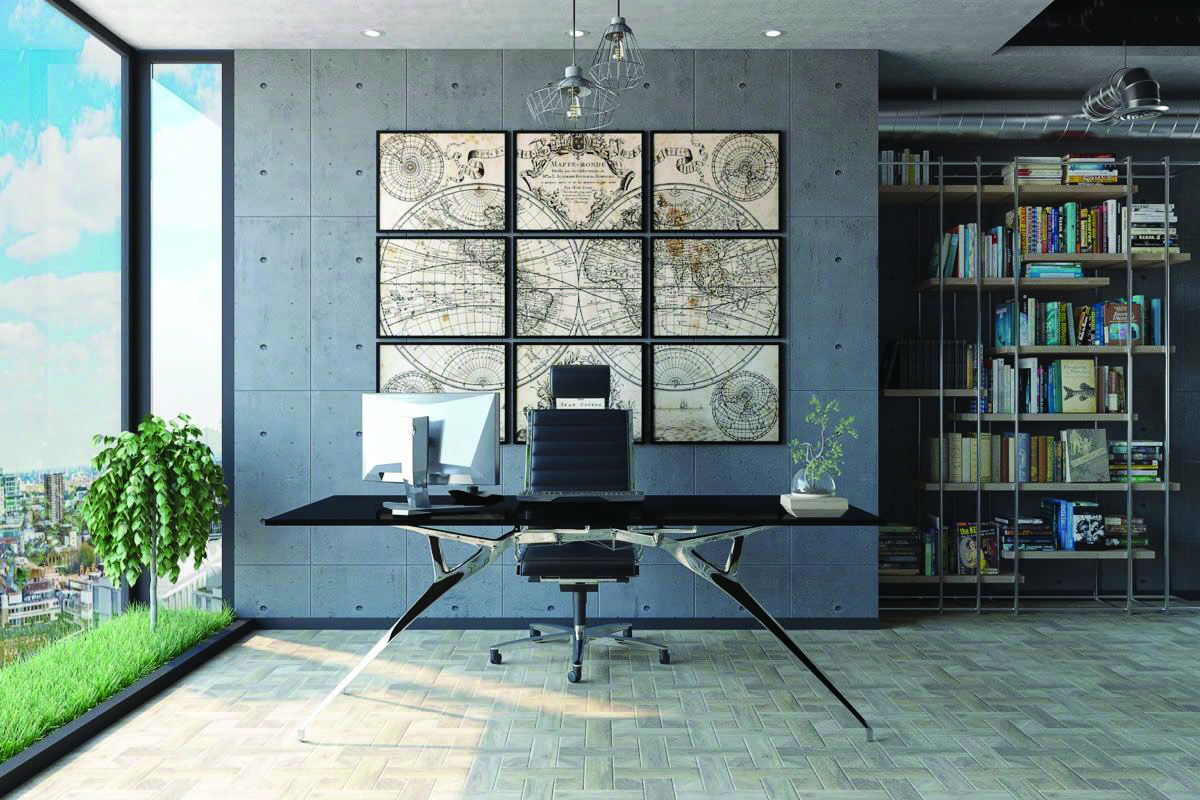 Industrial Home Office Ideas Uk in 12  Industrial home offices