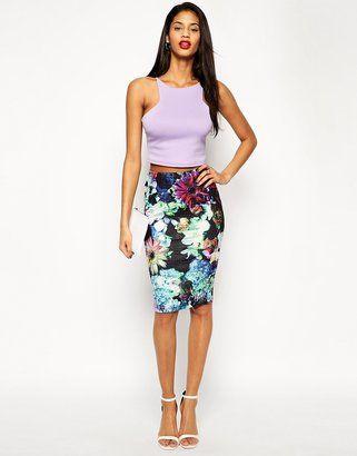2eec7055b6242 Floral Pencil Skirt - ShopStyle | Fashion inspiration | Estilo