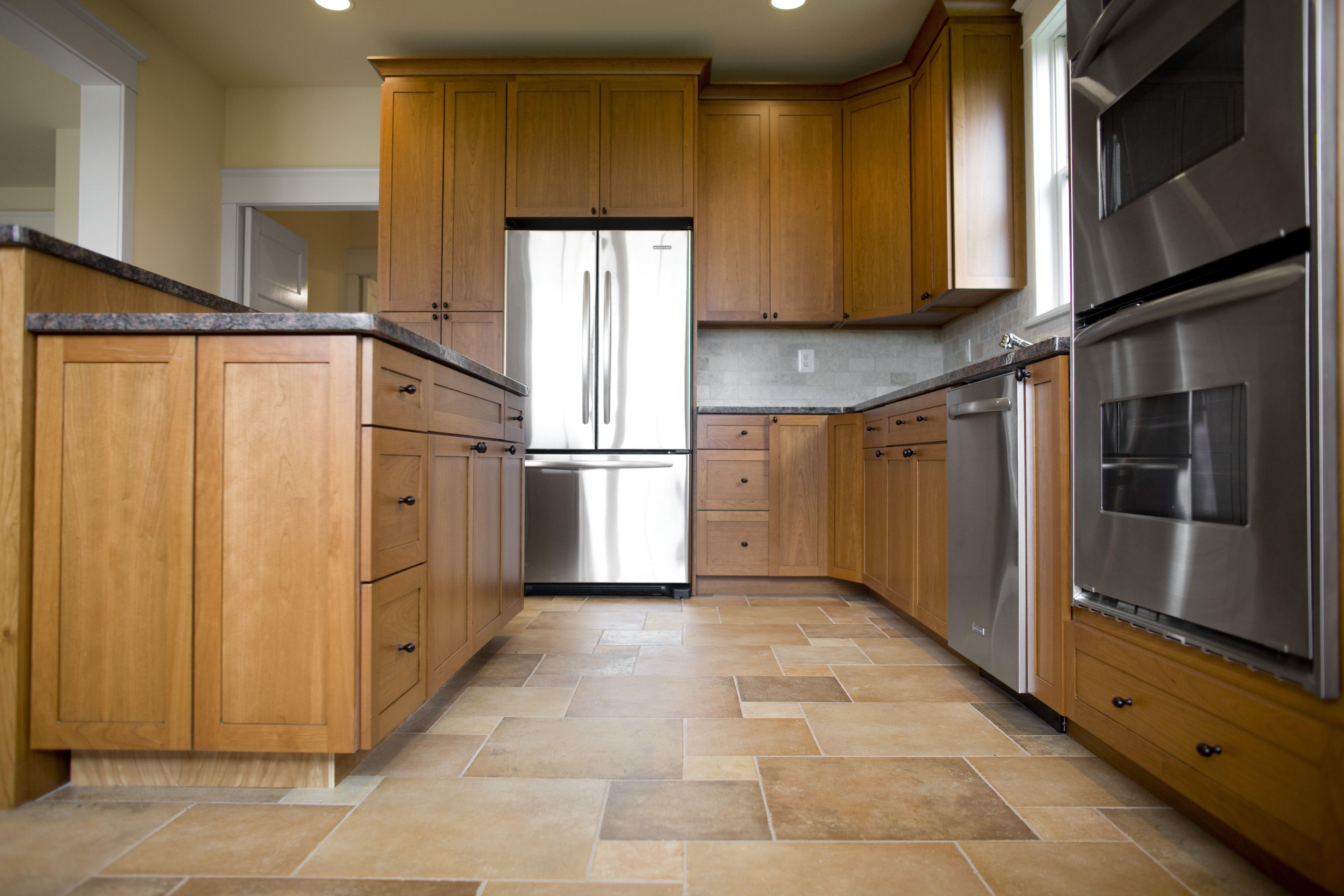 The Best Homemade Tile Grout Cleaner Combines Baking Soda And Hydrogen Peroxide In Equal Par Porcelain Tiles Kitchen Kitchen Flooring Best Flooring For Kitchen
