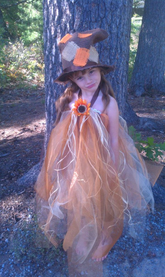 Fall Boutique Halloween Scarecrow tutu by BethsDivaBowTique, $3000 - halloween scarecrow ideas