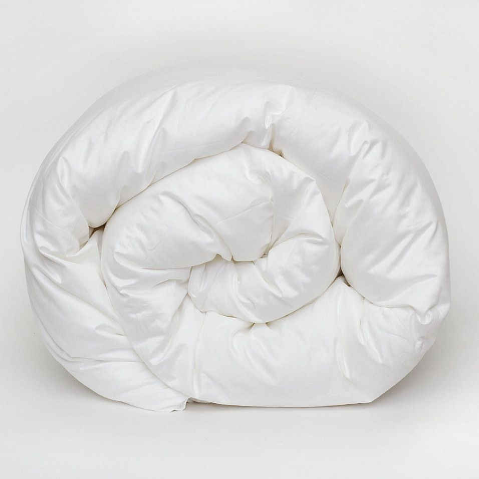 Photo of Covermade Patented Easy Bed Making Down Alternative Twin Comforter In White