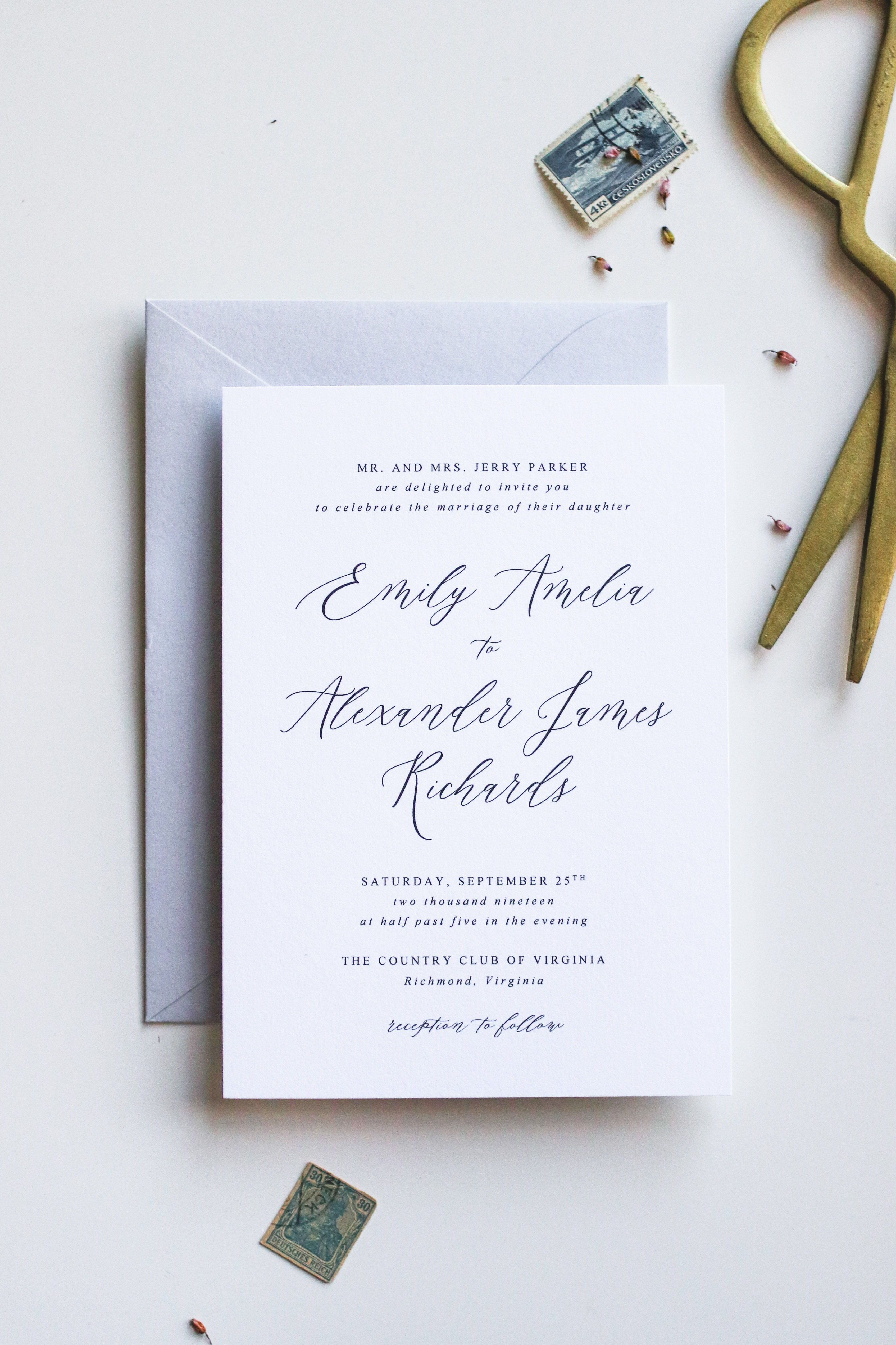 Script Wedding Invitation Wedding Invitation Template Made To