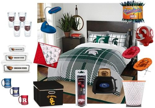 Dorm room essentials for sports fans | Sports Fan Home, Car & Office ...