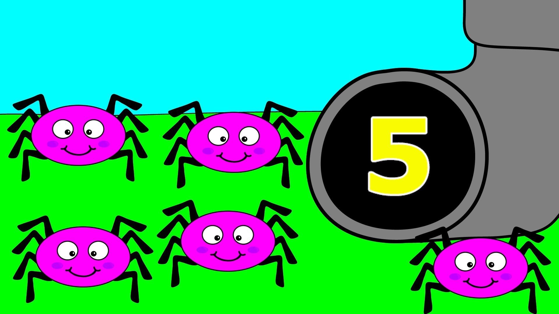 Itsy Bitsy Spider Numbers