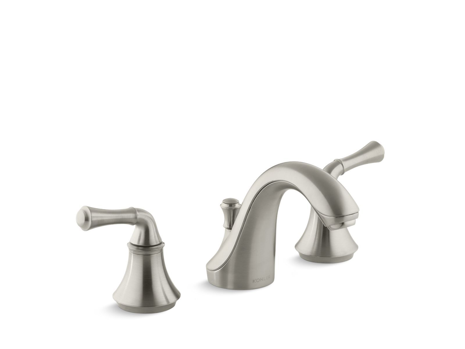 Forté Widespread Sink Faucet with Traditional Handles | K-10272-4A ...