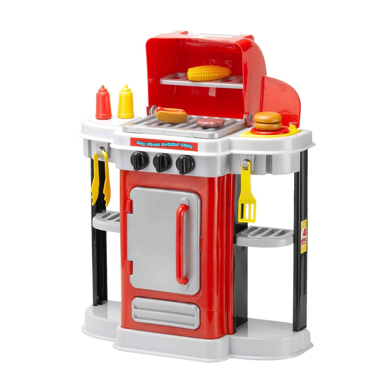 My First Grillin' BBQ Playset by Amloid Play kitchen