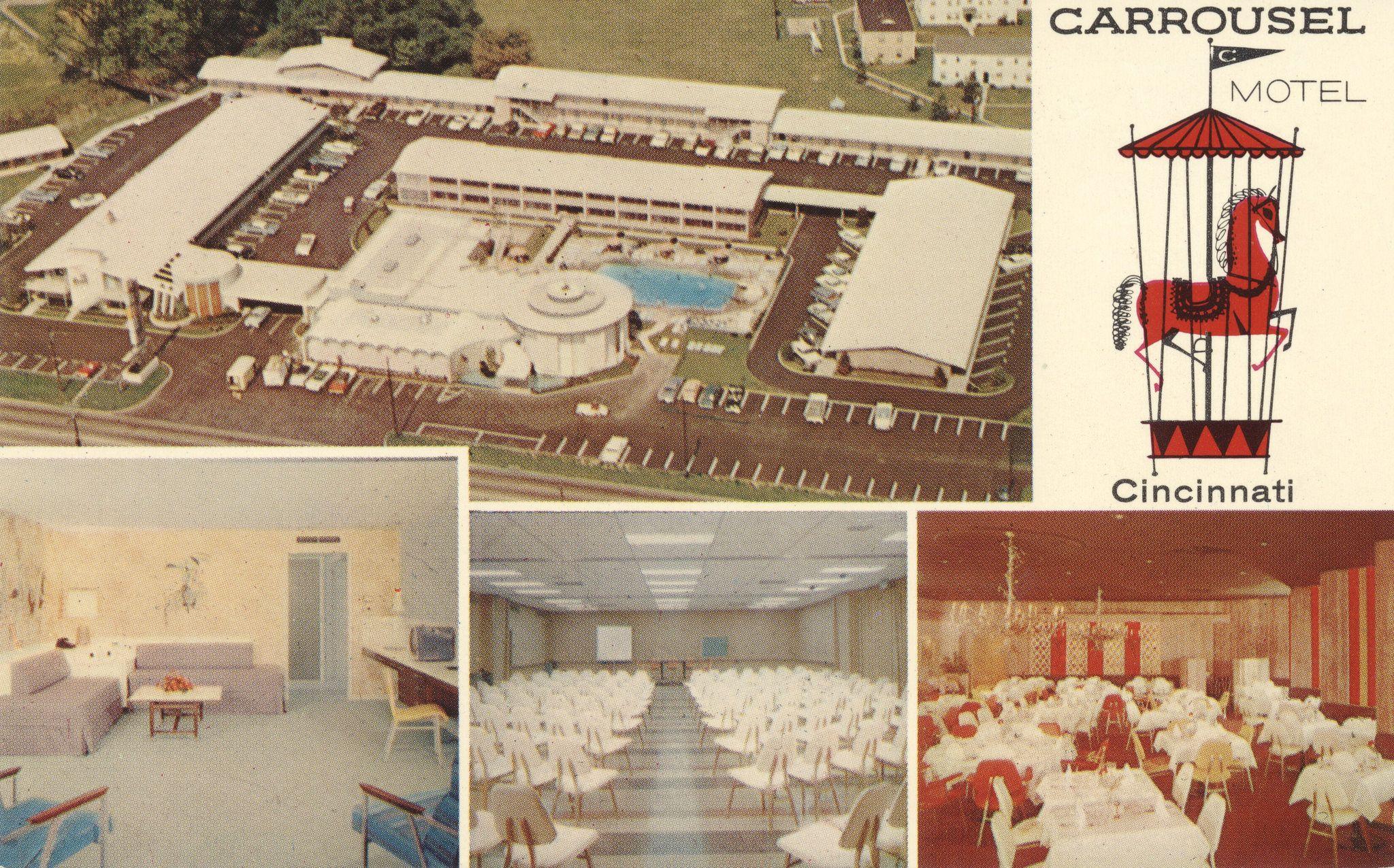 Carrousel Motel Cincinnati Ohio Cincinnati Ohio Cincinnati Ohio