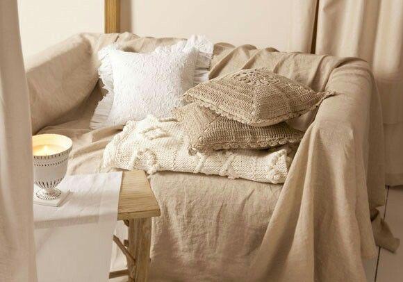 Decorar Un Sofá Con Una Manta Telas Para Cubrir El Sofá En