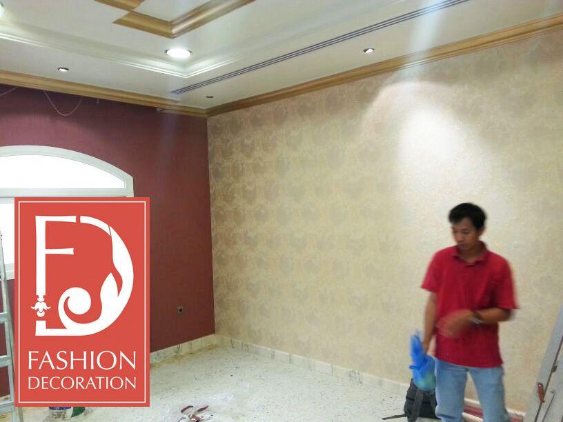 تركيب افضل انواع ورق الجدران على ايدي اختصاصين منازل Deco ورق جدران ورق حائط ديكور منازل جدة الرياض Decor Styles Decor