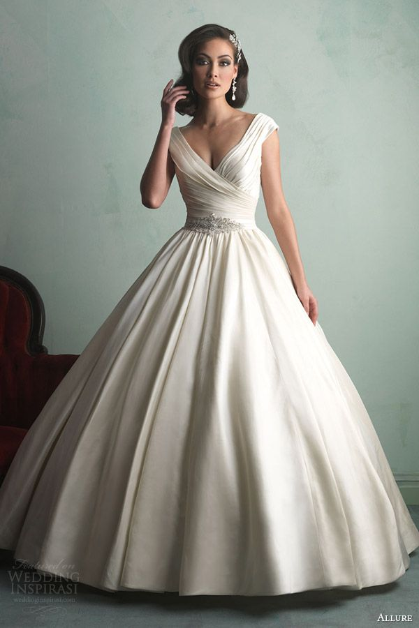 Allure Bridals Fall 2014 Wedding Dresses | Wedding dress cake, Dress ...