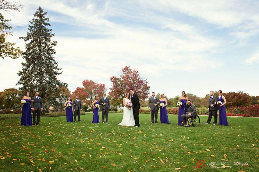 Jennifer Childress Photography | Associate Photographer | Wilmington, DE | Hotel du Pont | du Pont Country Club | du Pont | Brantwyn Estate | Wedding | Bride and Groom | Wedding Party |  www.jennchildress.com