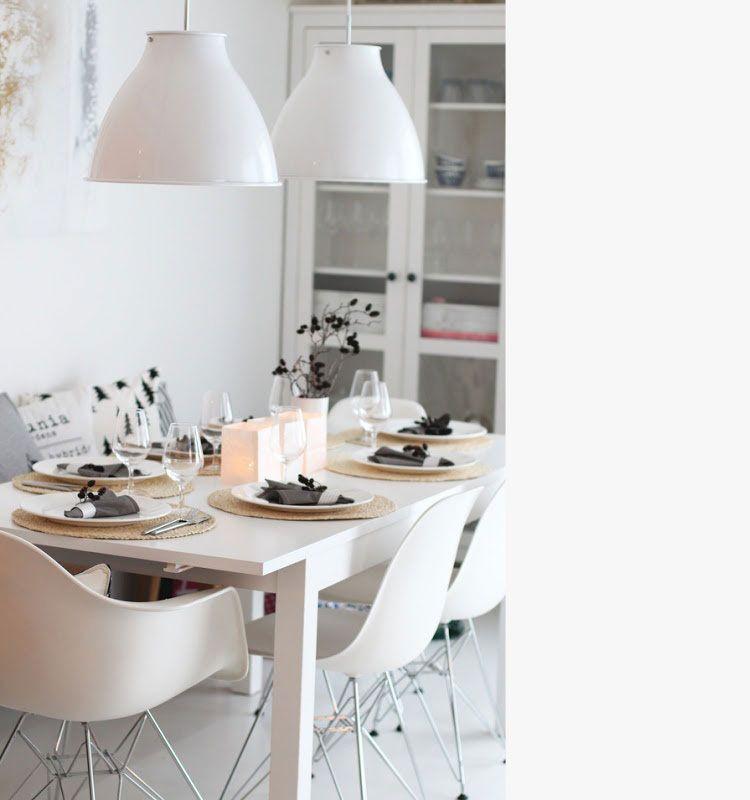 Een eetkamer inrichten met witte meubels: 15 voorbeelden | Interiors