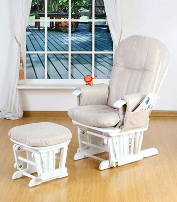Buy your Tutti Bambini GC35 Multi Position Glider Chair u0026 Stool from Kiddicare Nursing Chairs| & Buy your Tutti Bambini GC35 Multi Position Glider Chair u0026 Stool from ...