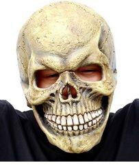 scary skull mask full head realistic latex party mask horror halloween mask