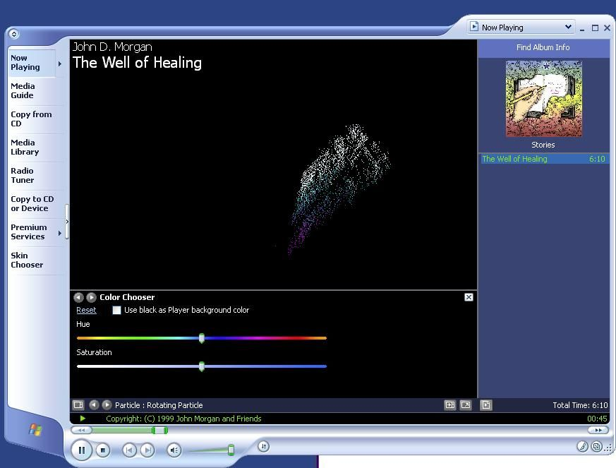 Windows Media Player 9 Series Default Player For Windows Xp Sp2 And Sp3 Colorful Backgrounds 10 Things Media