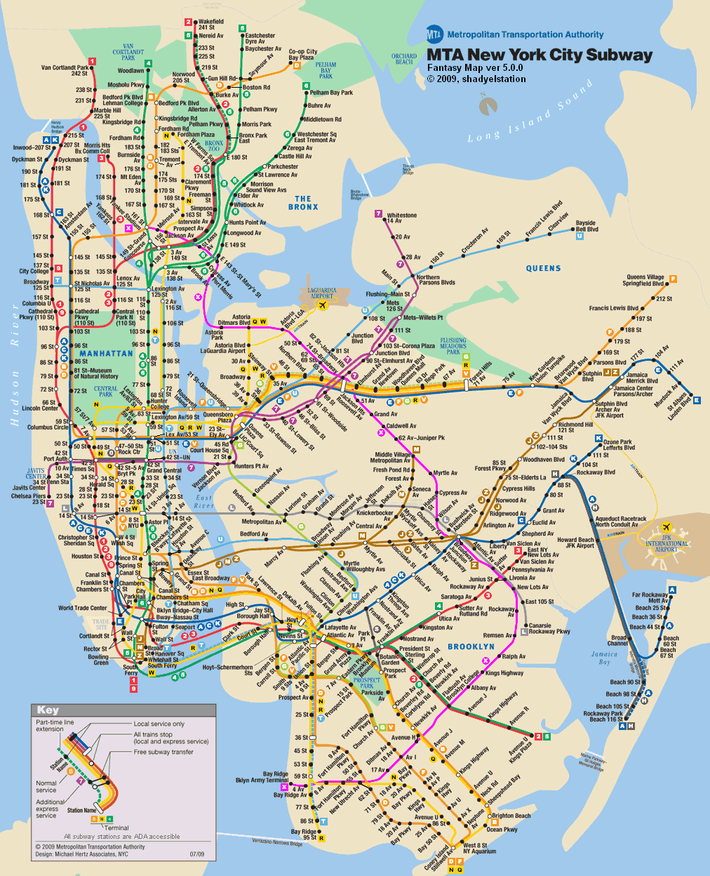 My Subway Map