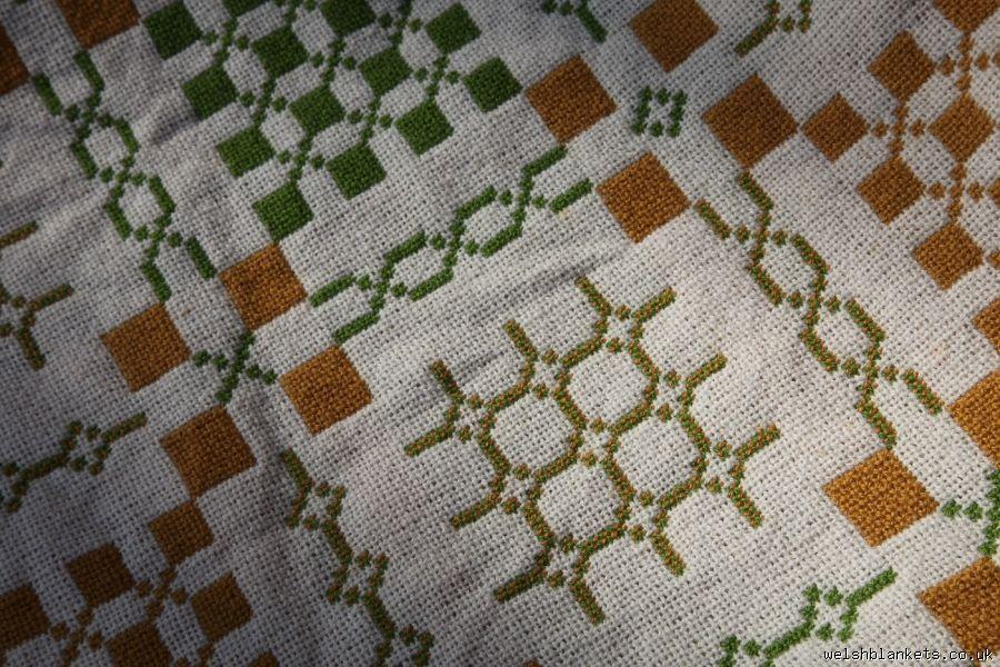 Unused Vintage Original. Elfed Tapestry TBN32 - Tapestry Bed Covers New Welsh Blankets