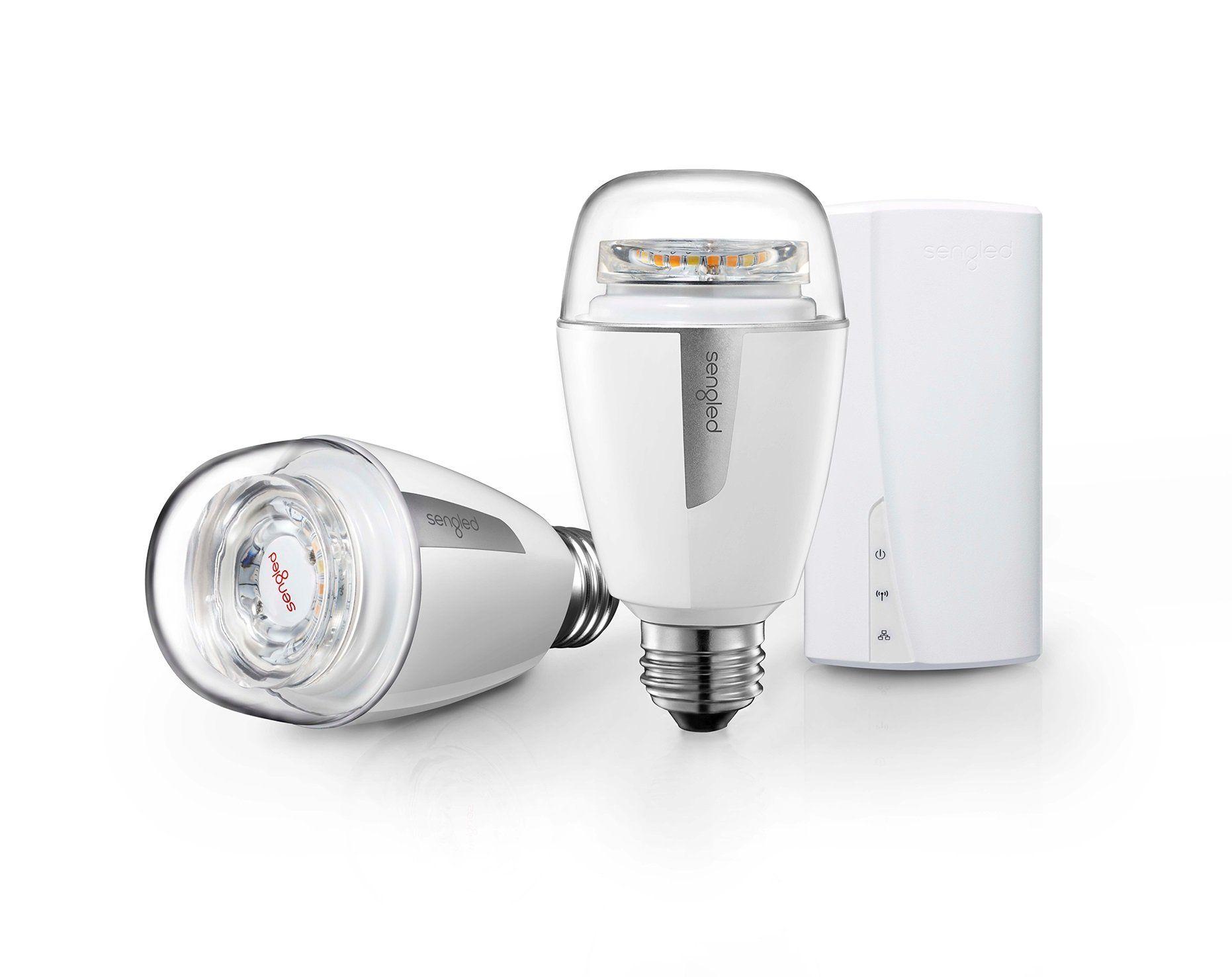 Sengled Element Plus Smart Lighting Starter Kit with Smart Hub and 2 ...