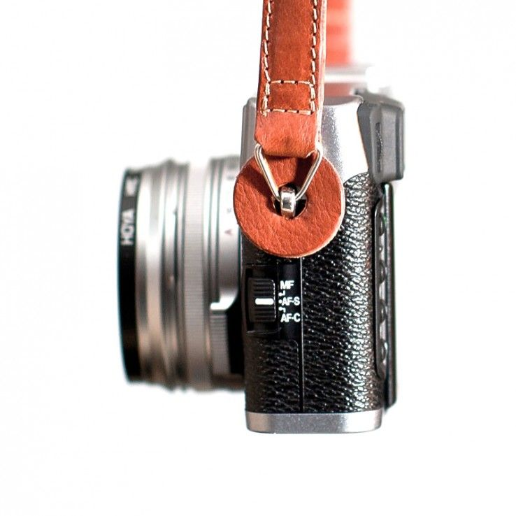 iErnest leather camera strap