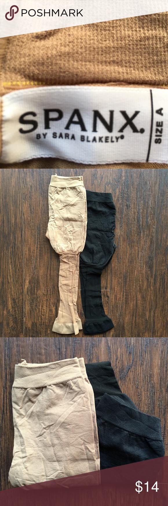 Spanx black/neutral NWOT Never worn. Size A fits XS/S SPANX Intimates & Sleepwear Shapewear