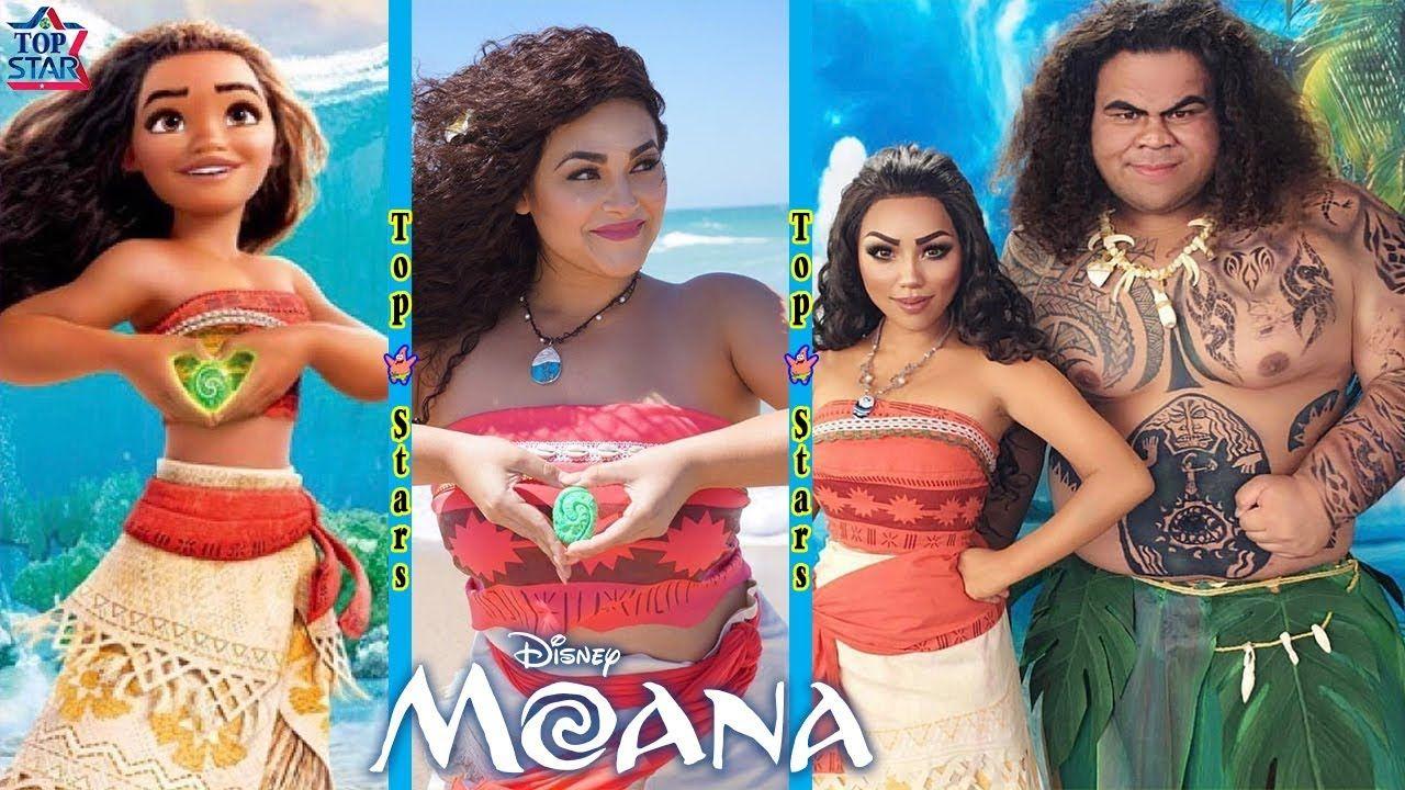 disney princesses in real life moana