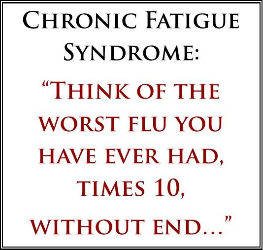 how to explain chronic fatigue syndrome to friends - Buscar