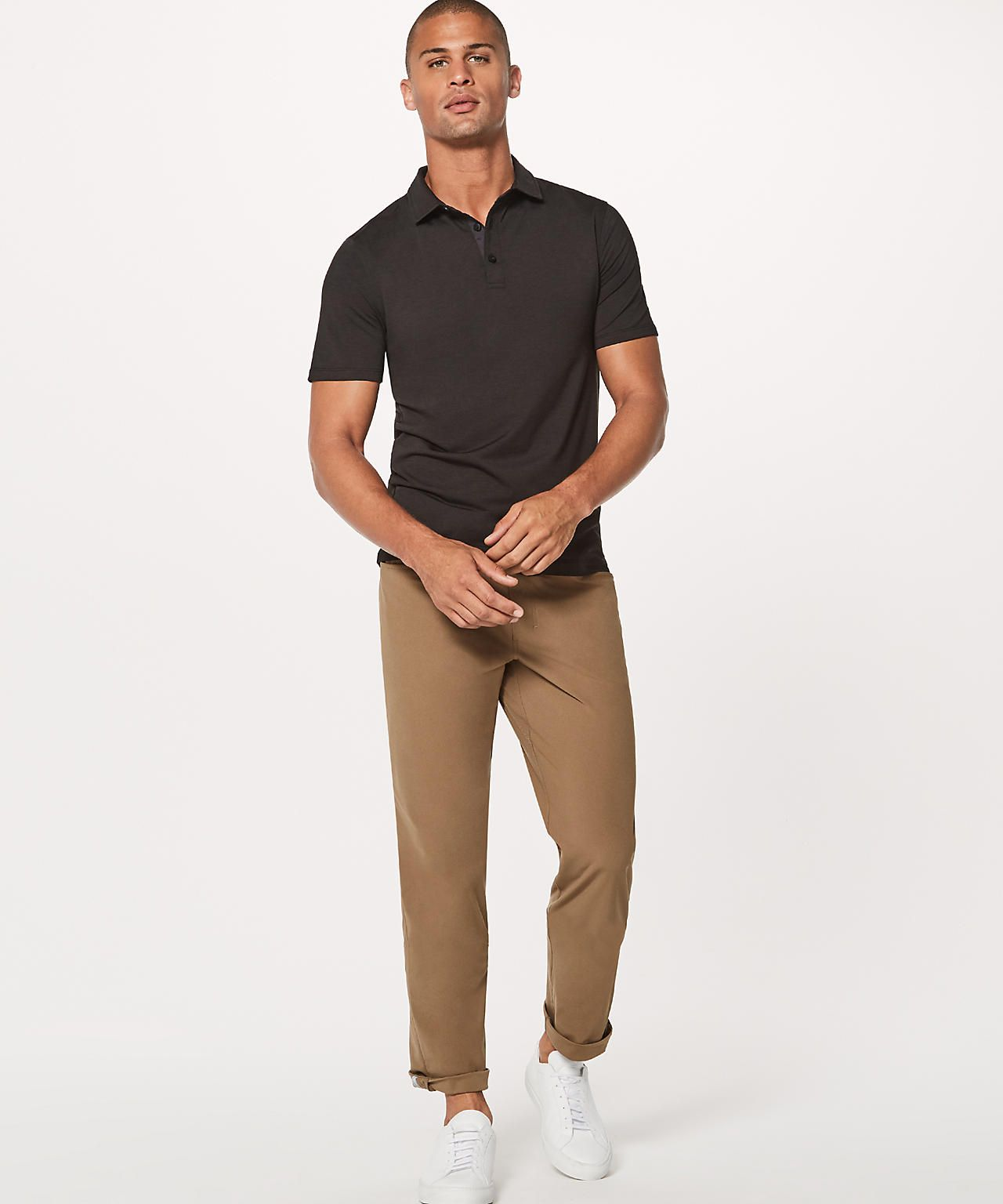 bea81054d black Polo Lululemon Lululemon Athletica
