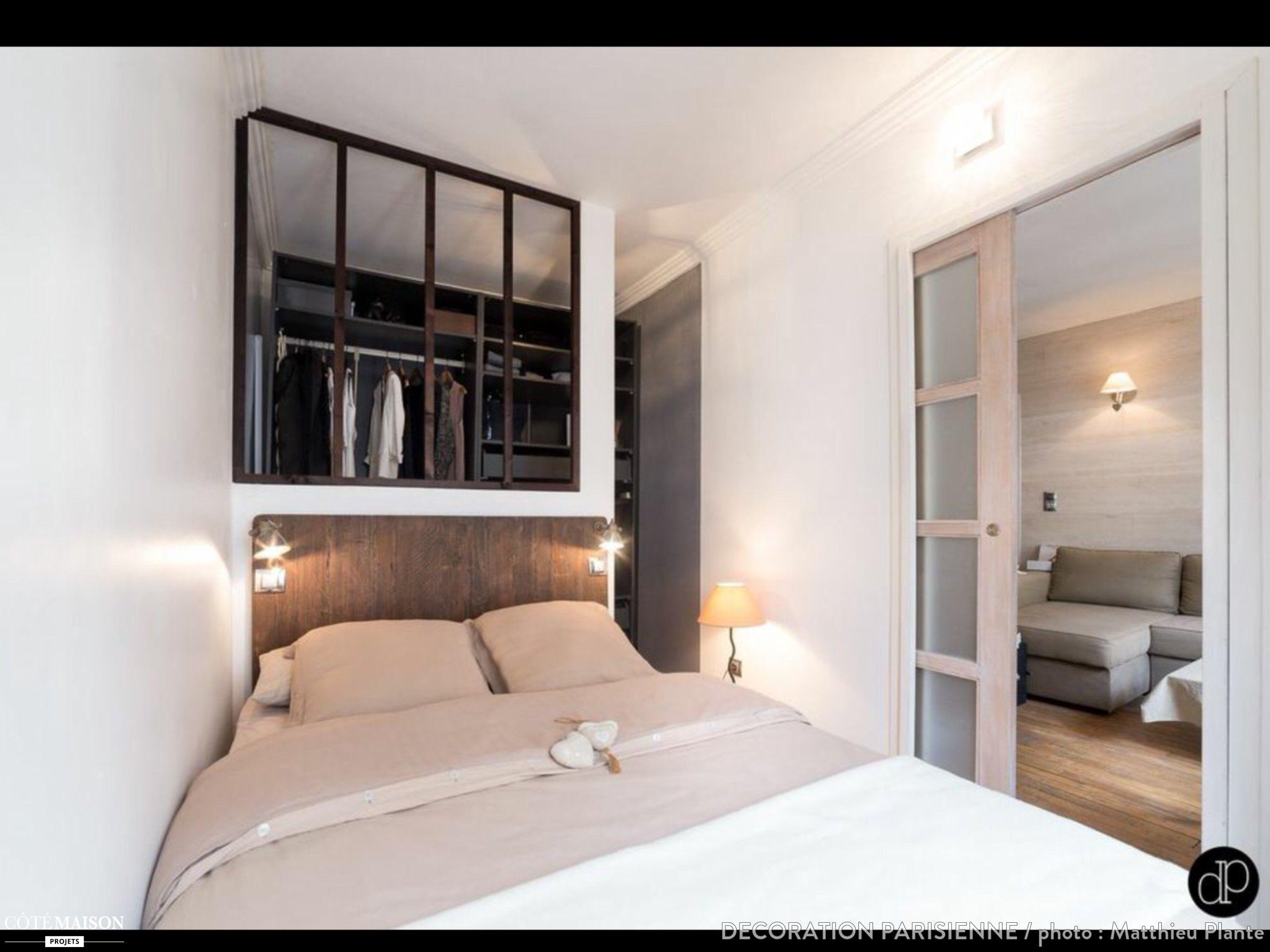 studio de 25 m2 dans lequel nous avons repens l 39 espace afin de cr er un deux pi ces agr able et. Black Bedroom Furniture Sets. Home Design Ideas