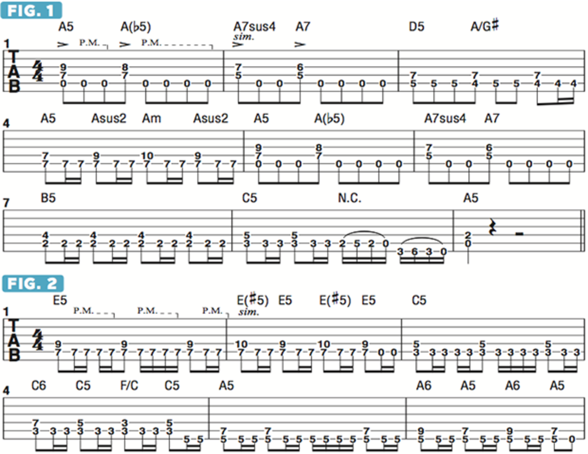 How To Incorporate Suspended Chords Into Heavy Metal Rhythm Guitar