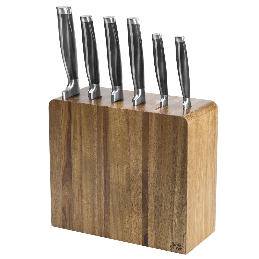 Jamie Oliver Kitchen 6 Piece Knife Block Set in 2020