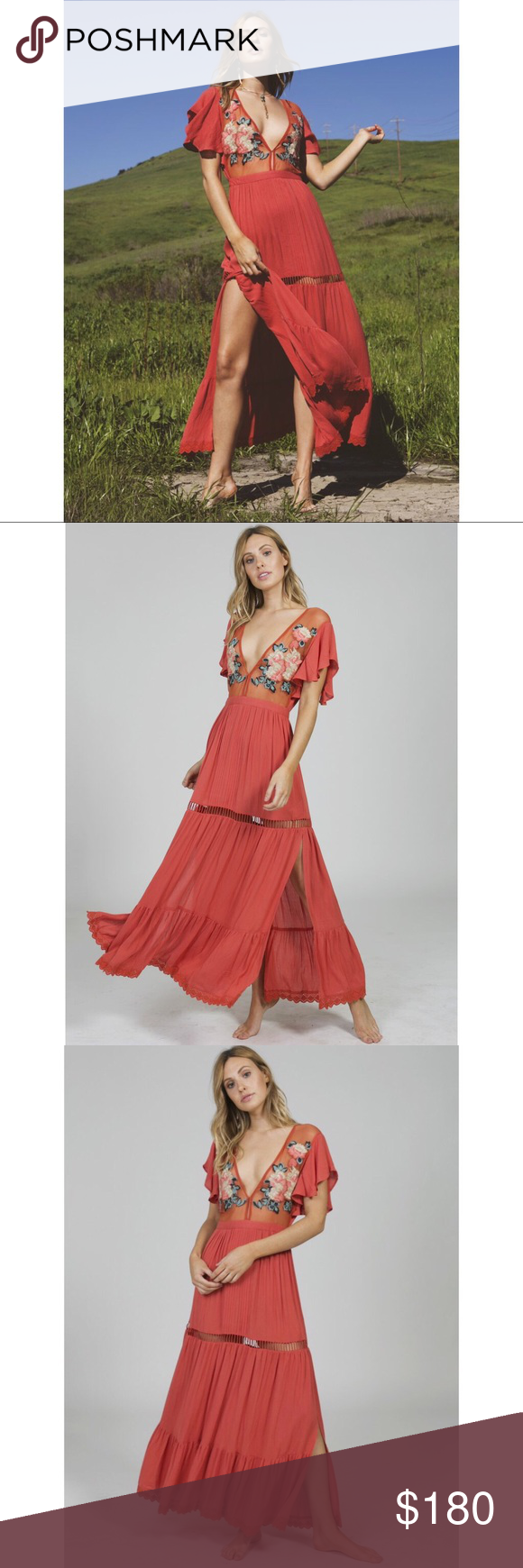 109214dc73 Cleobella Amery maxi Brand new with tags never worn.. pair it with a cute  mule slip on and a messy pony and your good to go 😊 Cleobella Dresses Maxi