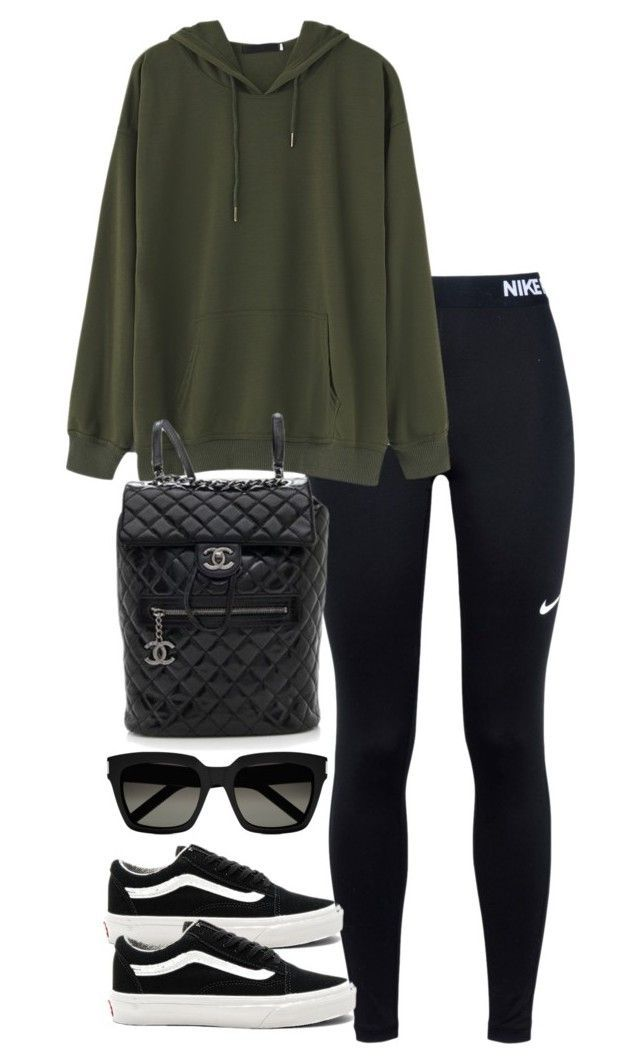 Store.nike $19 on -  Untitled #3840 by theeuropeancloset ❤ liked on Polyvore featuring NIKE, Vans, Chanel and Yves Sai - #CelebritiesFashion #LvHandbags #RayBanOutlet #Storenike #TomsShoesOutlet
