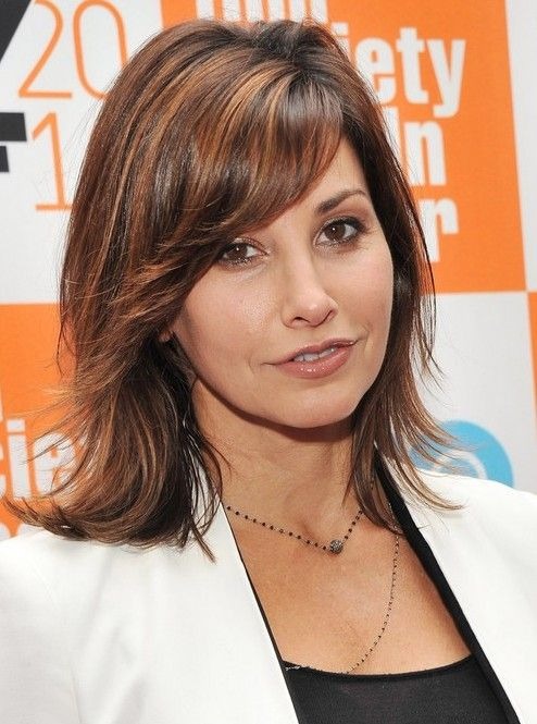 Shoulder Length Hairstyle With Bangs 2017 : 40 hottest hairstyles for thick hair 2017 celebrity