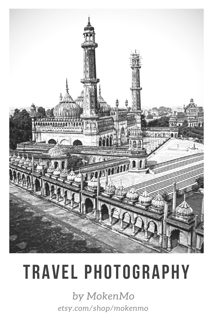 Temple in india black and white photography digital download