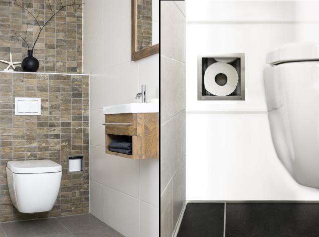 ablage klorollen in abkofferung badezimmer pinterest g ste wc gast und einrichten und wohnen. Black Bedroom Furniture Sets. Home Design Ideas