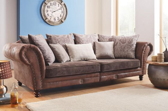 Megasofa braun home sofa decor und home - Sofa afrika style ...