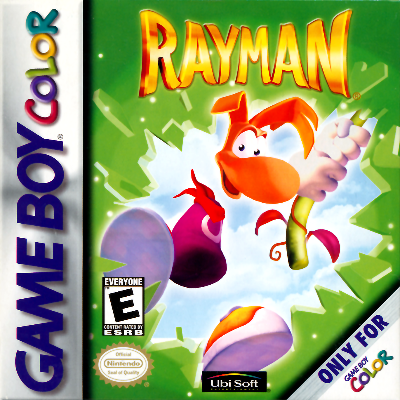 Rayman Nintendo Game Boy Color Color Games Gameboy Gameboy Games