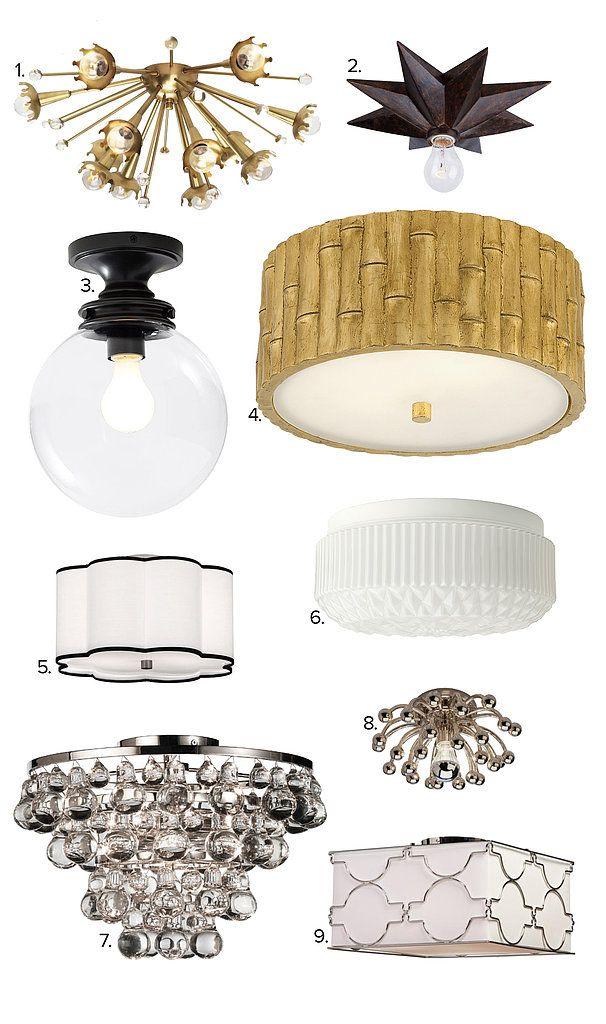 9 Covetable Lights For Smaller Closets Closet Light Fixtures