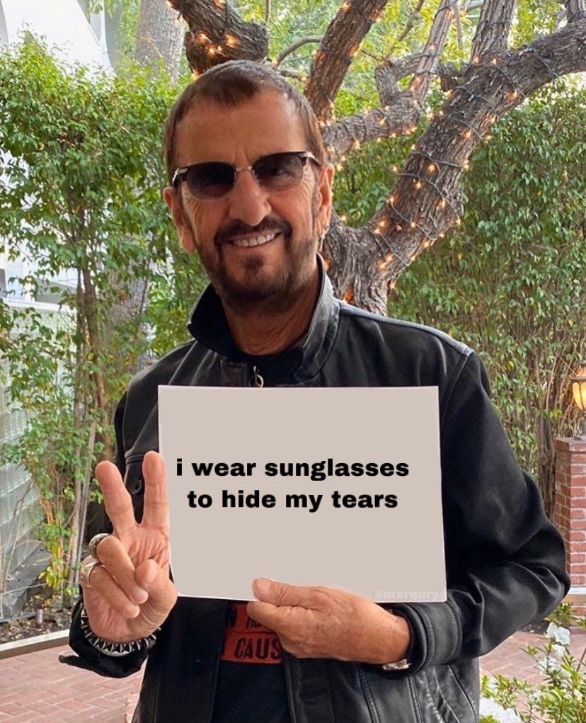 Pin By Bridget On Reaction Memes Reaction Pictures Peace And Love Ringo Starr