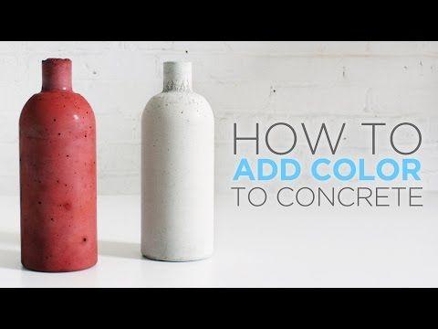 HomeMade Modern DIY Concrete: Coloring & Casting | Home DIY & Decor ...