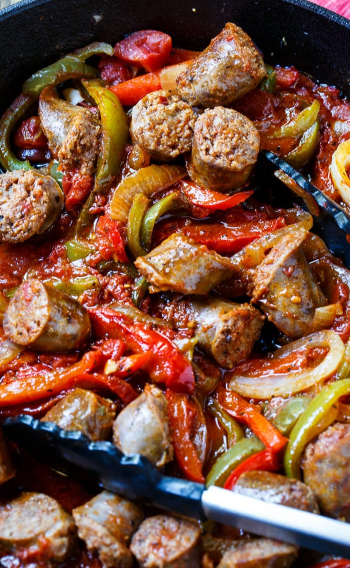 Italian Sausage and Peppers - Spicy Southern Kitchen