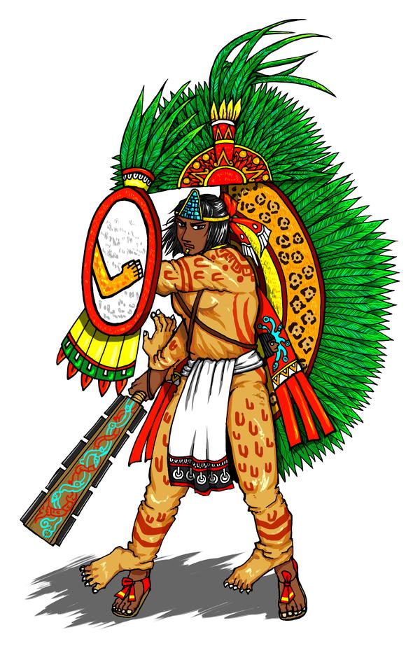Tlatoani Axayacatl Who Dresses As Xipe Totec By Nosuku K On Deviantart Aztec Warrior Ancient Mexico Aztec Empire
