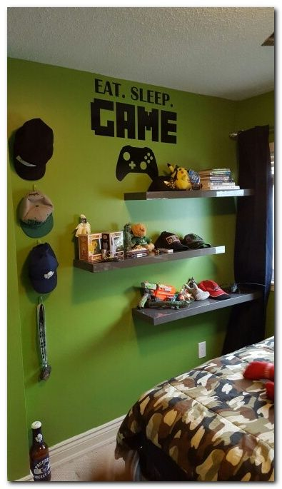 100 cool interior design ideas for gamers d co gamer chambres adolescent gar on d co - Chambre game but ...