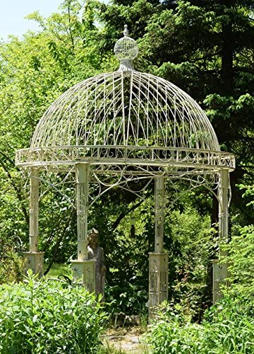 Amazon Com Zaer Ltd Large Garden Gazebo Antique Beige