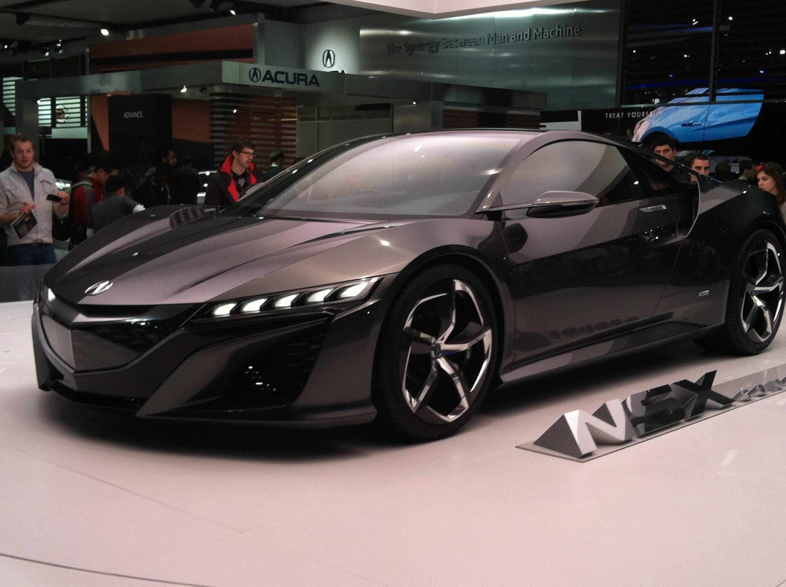 2013 Acura NSX Concept. | Vroom Vroom | Pinterest | Acura nsx, Cars ...