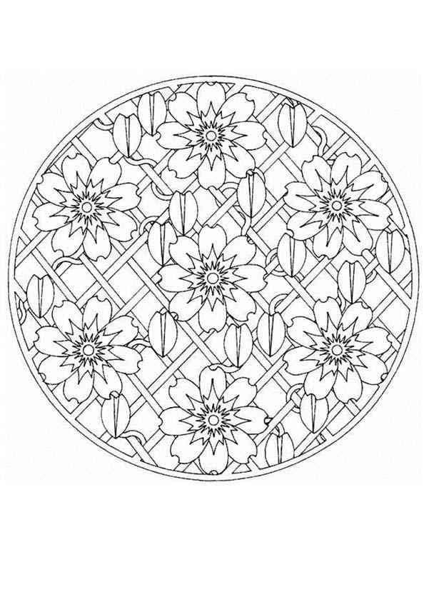 Mandala Malvorlagen Mandala Malvorlagen Malvorlagen Malvorlagen Blumen