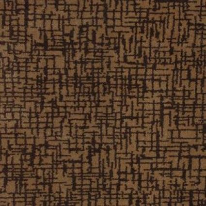 Crossover Dark Brown Brown Geometric Pattern Axminster Weave