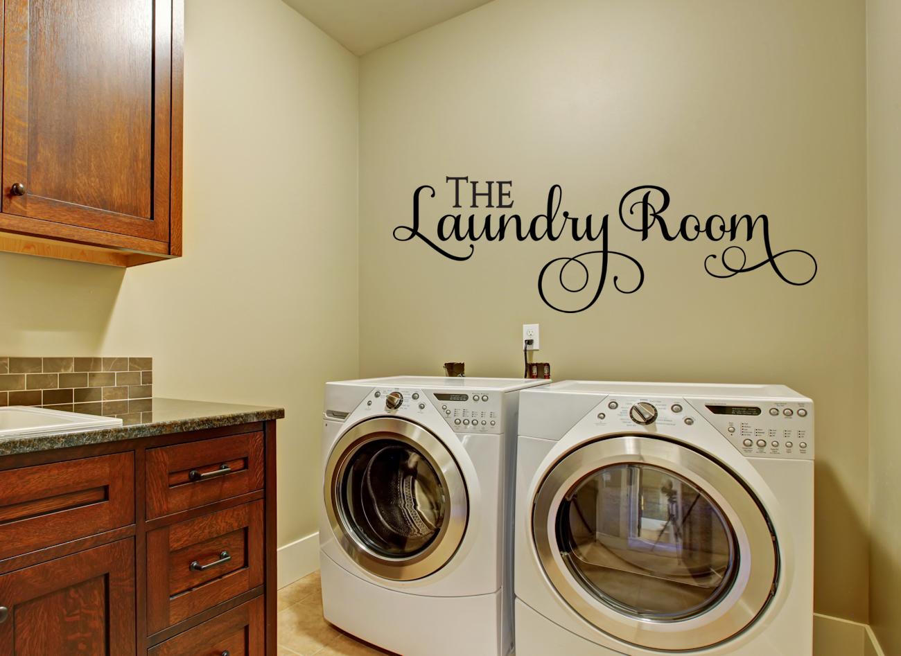 Laundry Vinyl Wall Decals Amandasdesignerdecals Wpcontent Uploads 2015 04 Thelaundry