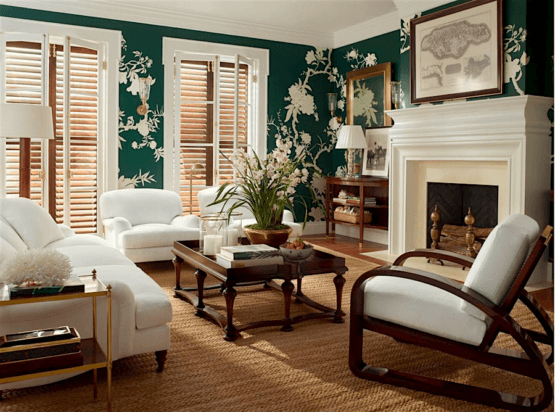 ralph lauren home British Colonial Indies style with green